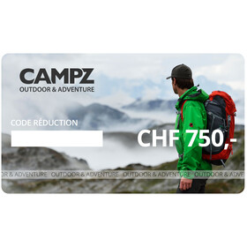 CAMPZ Chèques Cadeaux, CHF 750